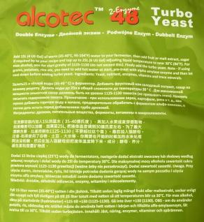 ALCOTEC Turbohefe 48H ? Spezial Frucht & Korn ? 14% in 36 Stunden ? 20% in 4 Tagen - Vorschau 5