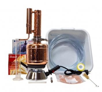 """"""" CopperGarden®"""" Destille EASY MOONSHINE 2 Liter SORGENFREI Vollausstattung"""