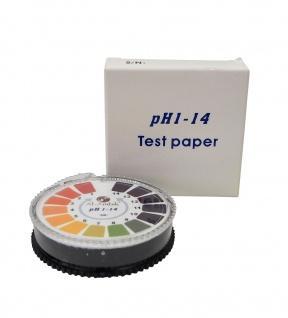 Al-Ambik® PH Indikatorpapier PH 1-14 ? 5 Meter Rolle ? Universal PH-Tester - Vorschau 3
