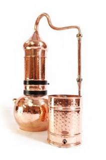""" CopperGarden®"" Kolonnenbrennerei 20 Liter & Thermometer"