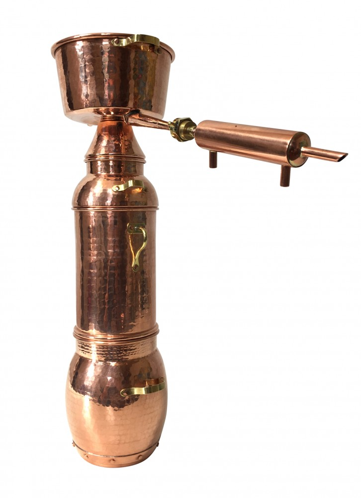 coppergarden alquitara plus 2 liter destille f r therische le kaufen bei unicobres gmbh. Black Bedroom Furniture Sets. Home Design Ideas