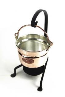 """"""" CopperGarden®"""" Fonduetopf aus Kupfer (11 cm) - Vorschau 1"""