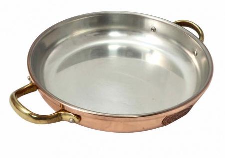 """"""" CopperGarden®"""" 20 cm Schmorpfanne mit Griffen - verzinnt"""