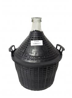 Glasballon mit Schutzkorb, 5 L - zum Lagern und Vergären - Vorschau 3