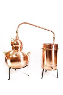 """"""" CopperGarden"""" Destille Alembik 50L, genietet"""