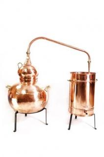 """"""" CopperGarden"""" Destille Alembik 50L, genietet - Vorschau 1"""
