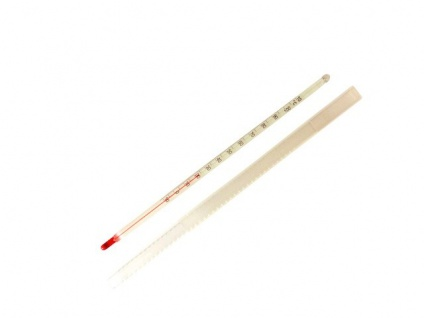 """ Hecht"" Universal Thermometer (-10 bis +112°C) M = 26 cm lang"