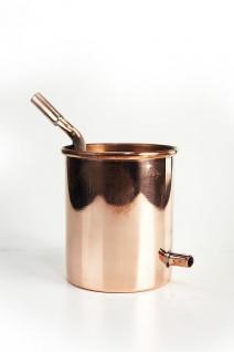 """"""" CopperGarden®"""" Kühler zur 0, 5 L Rosenhutdestille Hennin - Vorschau 2"""