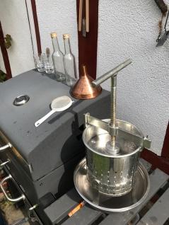 Stabile Spindelpresse ? 5 Liter Volumen ? stabile Metall Ausführung - Vorschau 4