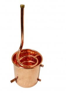 """"""" CopperGarden®"""" Destillieranlage 2L Alembik mit Spiritusbrenner - Vorschau 4"""