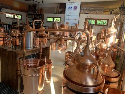 """"""" CopperGarden®"""" Pot Still Destille HYDRO, 20L & Thermometer"""