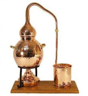 """"""" CopperGarden®"""" Destillieranlage 2L Alembik mit Spiritusbrenner - Vorschau 2"""