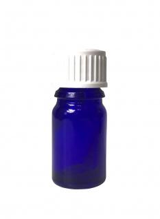 Blauglasflasche 5 ml mit DIN18 Gewinde & Deckel - Vorschau 2