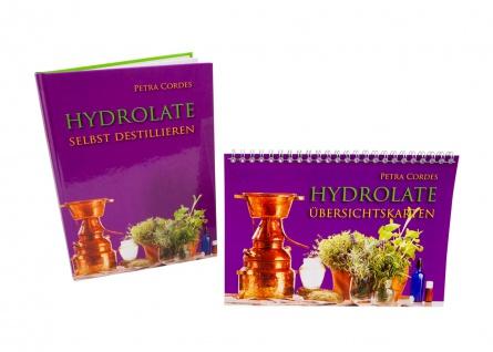 Hydrolate selbst Destillieren - Buch & Übersichtskarten - von Petra Cordes