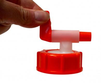 """"""" Speidel"""" Ablaufhahn ? 10mm Durchlauf ? lebensmittelechter Kunststoff - Vorschau 3"""
