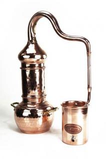""""""" CopperGarden"""" Destille mit KOLONNE 0, 5 Liter - Kolonnenbrennerei"""