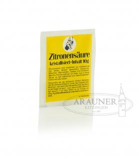 ARAUNER Zitronensäure ? 10 Gramm Beutel