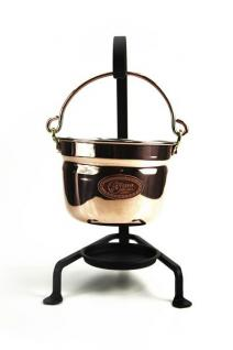 """"""" CopperGarden®"""" Fonduetopf aus Kupfer (11 cm) - Vorschau 2"""