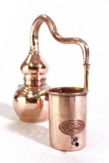 """ CopperGarden"" Destille ALEMBIK 0, 5 Liter handgeschmiedet"