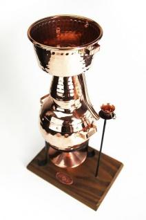""""""" CopperGarden"""" Destille Alquitara (0, 5 L) mit Spiritusbrenner - Vorschau 2"""