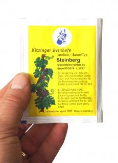 """"""" Arauner"""" Trockenhefe Steinberg 5 Gramm = ausreichend für bis zu 50 Liter"""