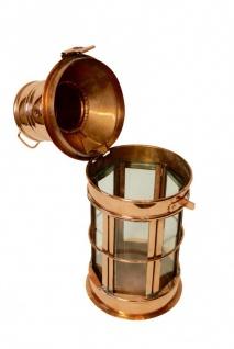 """"""" CopperGarden®"""" Laterne, Kupfer & Glas, 30cm - Vorschau 3"""