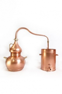 """ CopperGarden®"" Destille Alembik lifetime 10L & Thermometer"