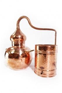 """ CopperGarden®"" Destille Alembik 20L ECO & Thermometer"