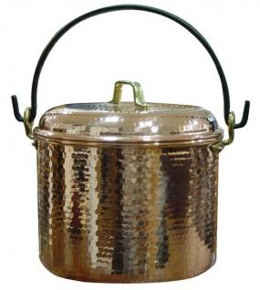 """"""" CopperGarden®"""" Kupfertopf 12L, gehämmert mit Henkel - Vorschau 4"""