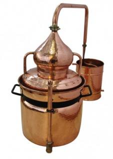 """"""" CopperGarden®"""" Wasserbad Destille """" Hydro"""" 30L & Thermometer"""