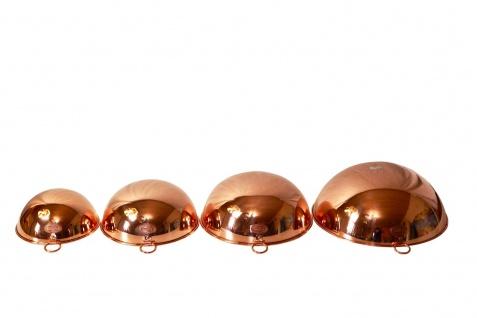 """"""" CopperGarden"""" Rührschüssel aus Kupfer, Größe M = Ø 24 cm - Vorschau 5"""