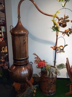 """"""" CopperGarden"""" Destille Kolonnenbrennerei 100 Liter zur Dekoration"""