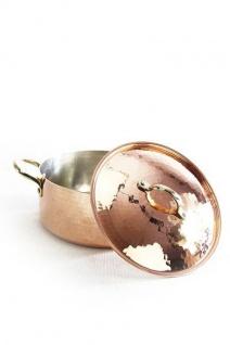 """"""" CopperGarden"""" Kupfertopf mit Deckel, 24 cm 3, 5 Liter verzinnt"""