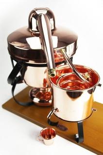 """CopperGarden® Destillieranlage """" Hobby II"""" ? 2, 5 Liter Tischdestille ? universell einsetzbare Hobbybrennerei - Vorschau 2"""