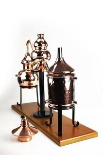 """"""" CopperGarden"""" Destillieranlage CHARENTAIS 0, 5L Destille für Cognac und Calvados"""