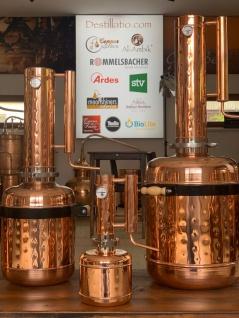 """"""" CopperGarden"""" Destille EASY MOONSHINE XL - 12 Liter - mit Thermometer - Vorschau 5"""