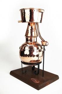 """"""" CopperGarden®"""" Mini-Destille ALQUITARA 0, 5 Liter mit Teelicht"""