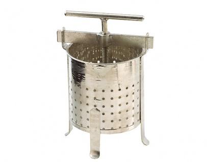Stabile Spindelpresse ? 5 Liter Volumen ? stabile Metall Ausführung - Vorschau 3
