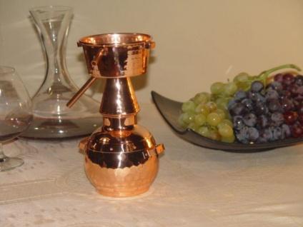 """"""" CopperGarden®"""" Deko Destille Alquitara 0, 5L - Vorschau 2"""