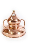 """"""" CopperGarden®"""" Wasserbaddestille 90 Liter mit Thermometer Al-Ambik®"""