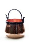 CopperGarden® Kupferkessel ? 30 Liter ? Hexenkessel
