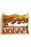""""""" CopperGarden®"""" Kupfer Miniaturen Küchenregal"""