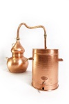 """ CopperGarden®"" Alembik 10 Liter - lifetime Supreme"