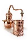 """"""" CopperGarden"""" Alembik 3 Liter - genietet & biodicht"""