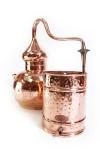 """"""" CopperGarden®"""" Destille Alembik 20L verschweißt & Thermometer"""