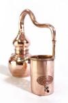 """"""" CopperGarden®"""" handgeschmiedete Alembik Destille 0, 5 Liter"""