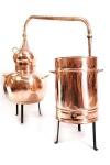 CopperGarden: Alembik Destille 100L, genietet