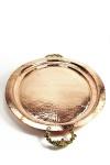 """"""" CopperGarden"""" stabiles Serviertablett aus Kupfer - 40 x 52 cm"""