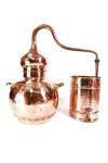 """"""" CopperGarden®"""" Destille Alembik 30L, genietet & Thermometer"""