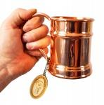 """"""" CopperGarden®"""" Kupfertasse ? Humpen 0, 5 Liter"""